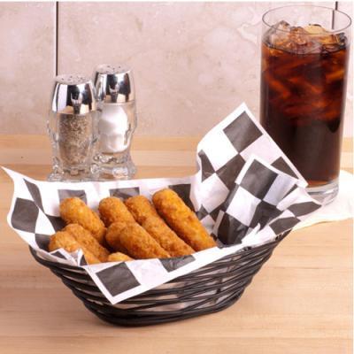 french black blacknest food basket 1P