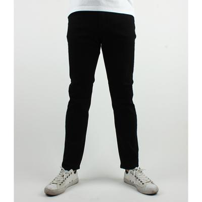 [ARSON] #14045 SLIM STRAIGHT JEANS (BLACK)