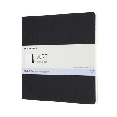몰스킨 아트컬렉션-스케치 패드/블랙 SQ