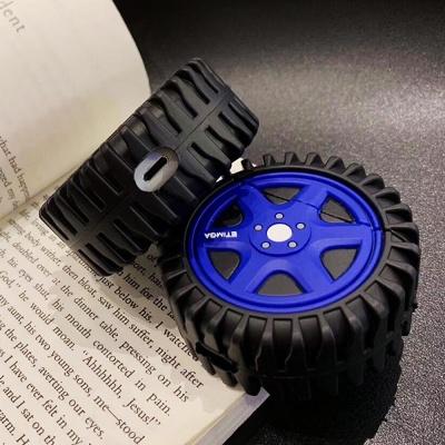 에어팟케이스 1/2세대 타이어 캐릭터 실리콘 334 블루