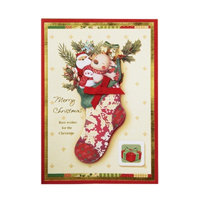 크리스마스카드 카드 성탄카드 FS109-6