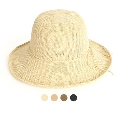 [디꾸보]레이디 플로피 햇 끈 리본 썬캡 모자 JAN370