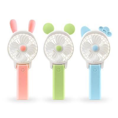 KC정식인증 USB충전 무선 휴대 여행선풍기 Lovely Fan
