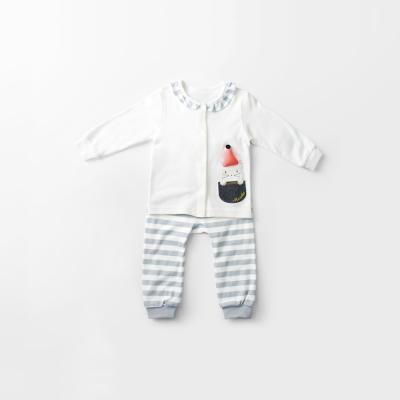 [메르베] 고양이 신생아 유아 내복/내의/아기실내복_사계절용