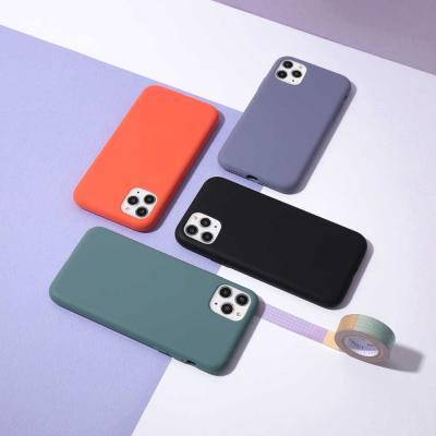 아이폰11프로맥스 실리콘 케이스