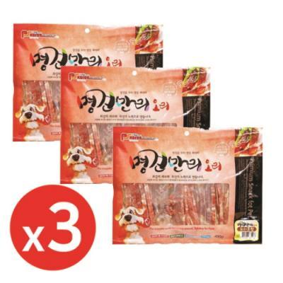 명견만리400g 오리혼합 x3개 강아지간식