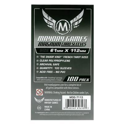 메이데이 매그넘 카드 슬리브 61x112 - 100pack