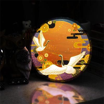 ne872-LED액자25R_풍수명예권세의상징두루미