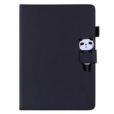 T074 아이패드5 9.7 애니멀 포켓 가죽 태블릿 케이스