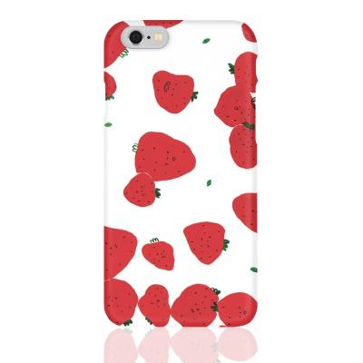 폰케이스 / 봄, 딸기, 빨강