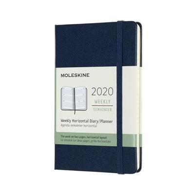 몰스킨 2020위클리(가로형)/사파이어블루 하드 P