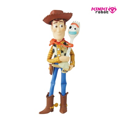 UDF TOYSTORY4_WOODY&FORKY (1908022)