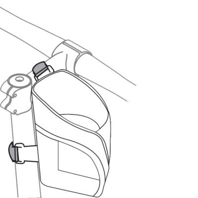 아이베라 벨크로 체결 방식 전기 자전거 물통케이지