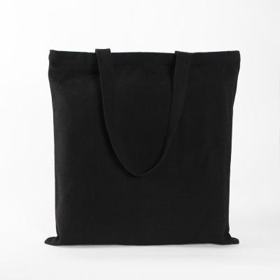 캔버스 포켓 에코백(블랙) (34x36cm)