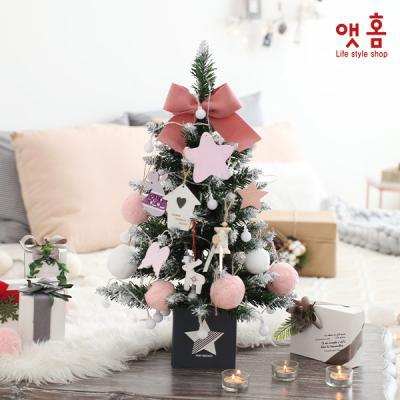 앳홈 핑크펠트 크리스마스 미니트리 / 60cm