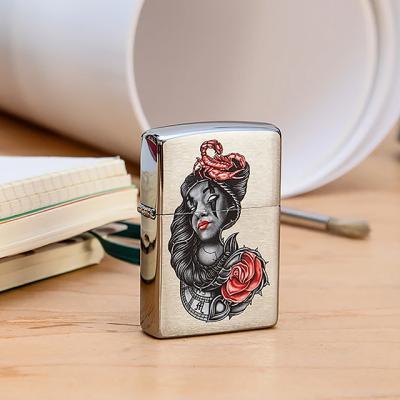 ZIPPO 49112 Stylized Tattoo Design