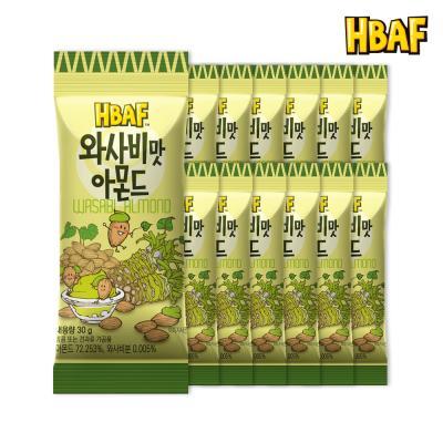 [길림양행] 와사비맛 아몬드 30g_12봉