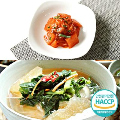 [HACCP] 한옹 꼴깍 400g + 열무김치 1kg