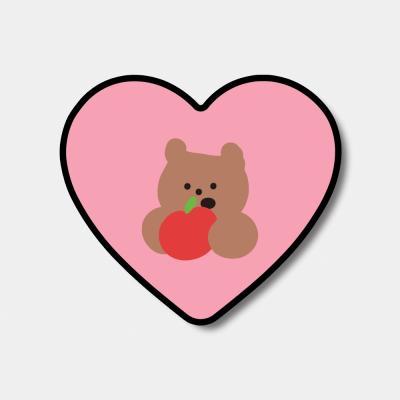 [하트톡♥] yummy apple gummy