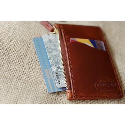 이비그 가죽 지퍼 지갑 / ( 카드,명함,동전,지페 수납)
