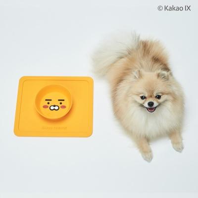 카카오프렌즈 논슬립 강아지 밥그릇