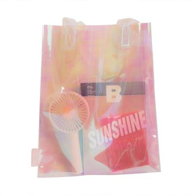 레이지라운지 선샤인 PVC에코백 - 핑크홀로그램
