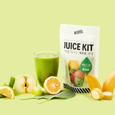 [원더그린] 건강한 한잔, 주스&스무디 키트 4팩
