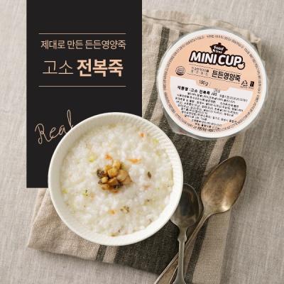 [원더그린] 푸드트리 미니컵 영양죽 12팩