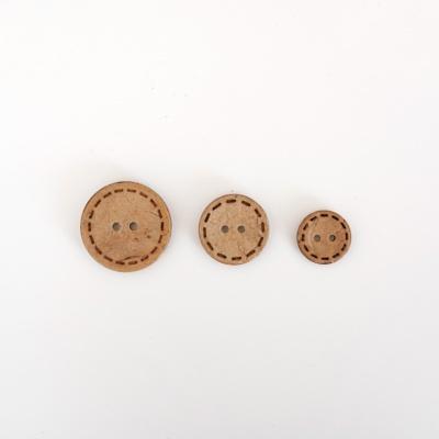 야자 스티치 단추 - 소/중/대 (15mm/20mm/25mm)