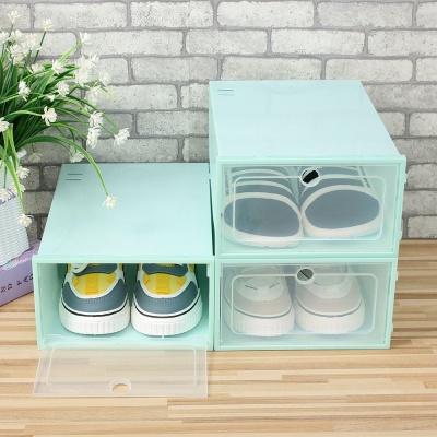슈박스 신발정리함 3p세트 대 민트 운동화수납장