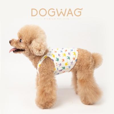 도그웨그 러블리 토끼 크롭탑 강아지 여름 옷 티셔츠