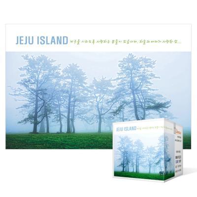 108피스 직소퍼즐 - 제주 마방목지 푸른빛 안개(미니)