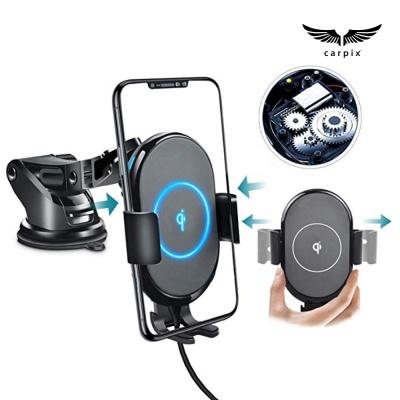 카픽스 WCC-150 차량용 핸드폰 고속무선충전 거치대