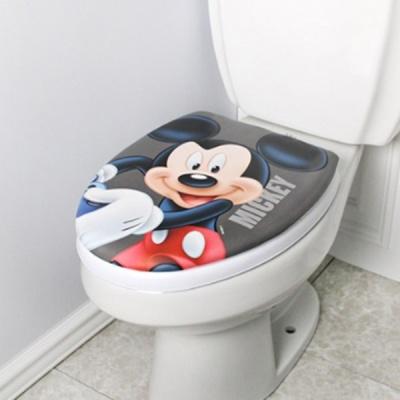 디즈니 퍼니소프트 O형 변기커버_미키 5336