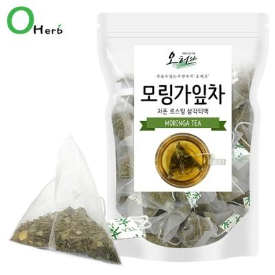 모링가잎차티백 모링가잎차 25개입 삼각티백차 식