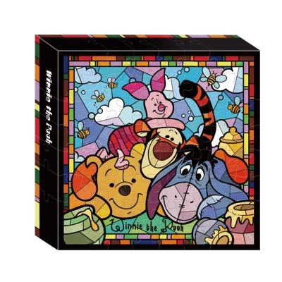 글라스아트 위니더푸우 직소퍼즐 TG-PD56-2102