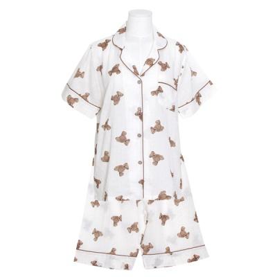 [쿠비카]브라우니 레이온 혼방 투피스 여성잠옷 W778