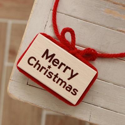 D34 / merry christmas 캘리 스탬프