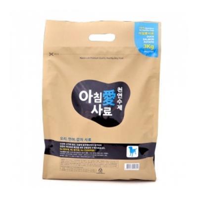 아침애수제사료 오리연어감자 3kg(200gX15봉지)