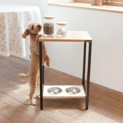 강아지 고양이 자세교정 2구 식탁