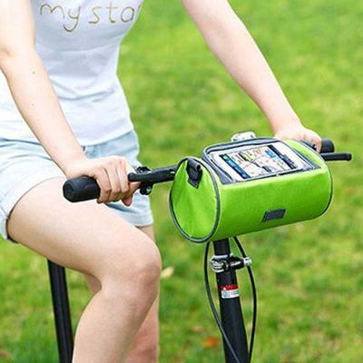 핸드폰 터치 자전거핸들가방 겸 여행용 크로스백