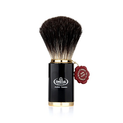 [오메가브러쉬] shaving brush 6190 BLACK