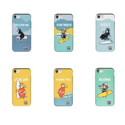 [ONELIFE] 원라이프 서퍼후드 슬라이드 6종 아이폰 X