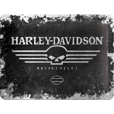 노스텔직아트[26116] Harley-Davidson Skull