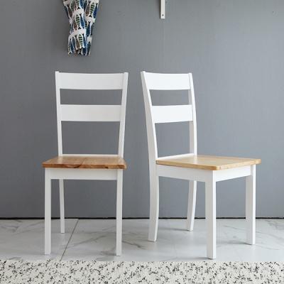 [베스트리빙]캔사스 원목의자 1+1