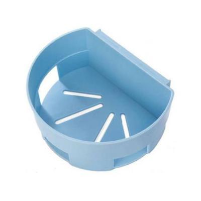 미니멀 다용도 욕실정리 선반 블루 1개