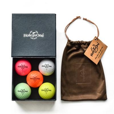 홀인원칼라볼 컬러볼 3피스골프공 골프선물 단체선물