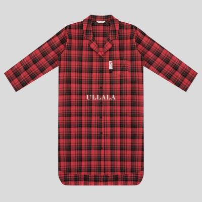 빨강머리앤 러브스토리 롱셔츠 파자마