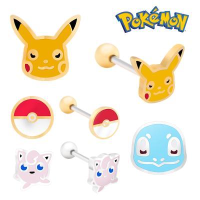 Pokemon 포켓몬스터 쥬얼리 귀걸이 피어싱 4종