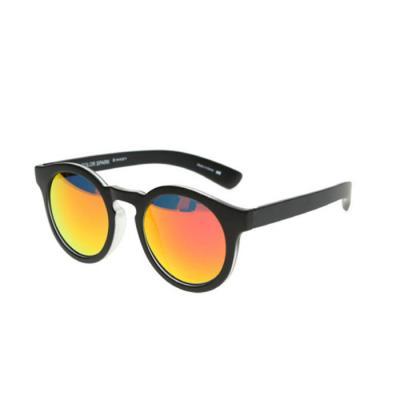 [Color Spark] 컬러스팍 파스텔 오브 산토리니 미러 선글라스 블랙-선셋